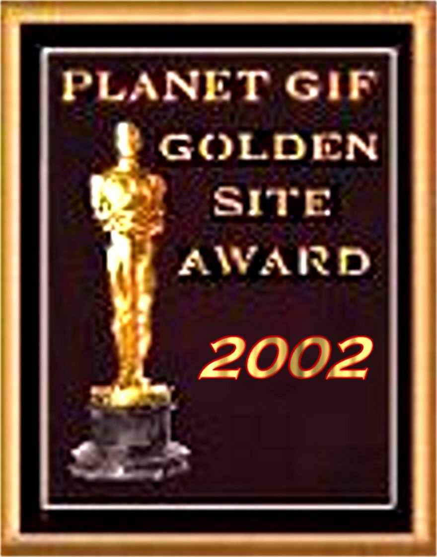 Planet Gif Golden Site Award